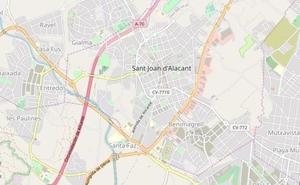 Dos muertos en el incendio de una vivienda en Sant Joan d'Alacant
