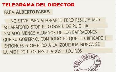 TELEGRAMA PARA ALBERTO FABRA