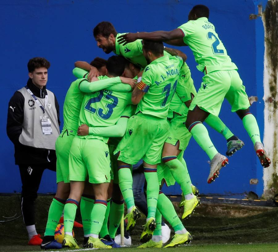 Fotos del Eibar-Levante