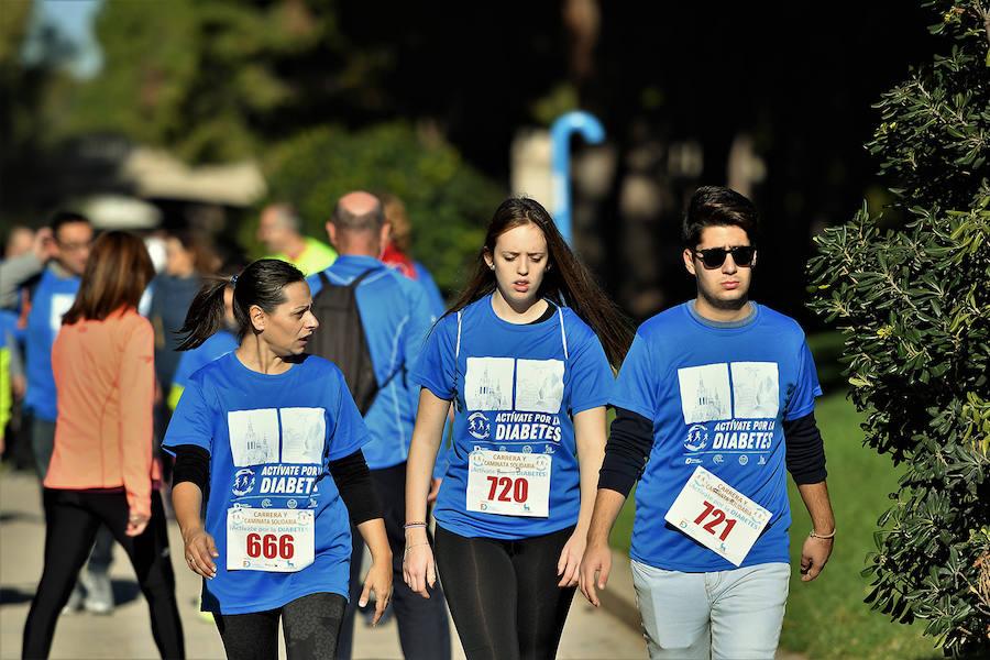 Carrera y caminata solidaria ¡ Actívate por la diabetes! 2018 de Valencia