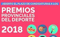 Abierto el plazo para presentar candidaturas a los Premios Provinciales del Deporte