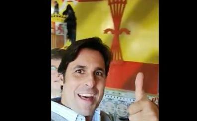 El polémico vídeo de Francisco Rivera rodeado de símbolos franquistas