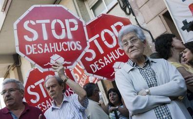 Los desahucios bajan en España pero aumentan en la Comunitat en el tercer trimestre del año
