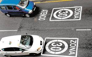 Todas las calles de un solo carril tendrán velocidad limitada a 30 km/h
