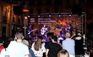 Música, descuentos, degustaciones y 200 tiendas abiertas hasta medianoche, el jueves en Valencia