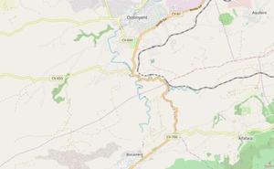 Fallece el otro motorista accidentado por la colisión de dos vehículos en el barranco de Ontinyent
