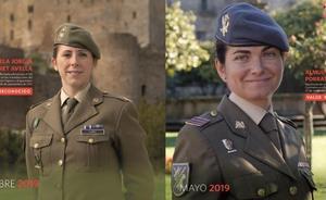 Las militares más valientes del año
