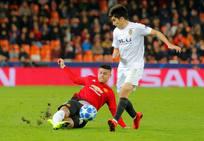 Fotos del Valencia CF-Manchester United en Mestalla
