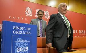 El Síndic de Greuges cuestiona la legalidad de los gastos de los grupos de Les Corts