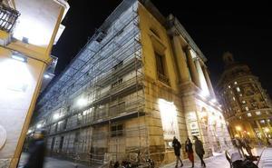 La Diputación tarda un año y medio en iniciar las obras para reparar el Principal