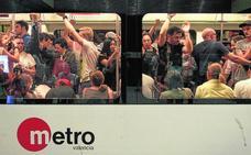 El metro nocturno comenzará el viernes con frecuencias de entre 20 y 60 minutos