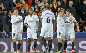 Los primeros posibles rivales del Valencia en Europa League