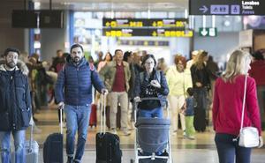 El aeropuerto de Valencia alcanza los 7,2 millones de pasajeros