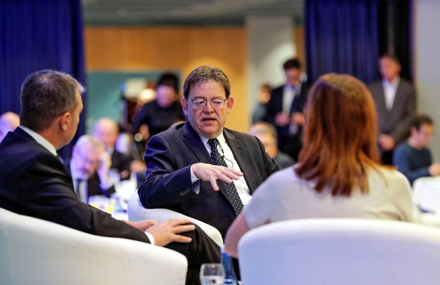 Puig y Armengol ponen en valor el Corredor Mediterráneo y apuestan por la descentralización de infraestructuras