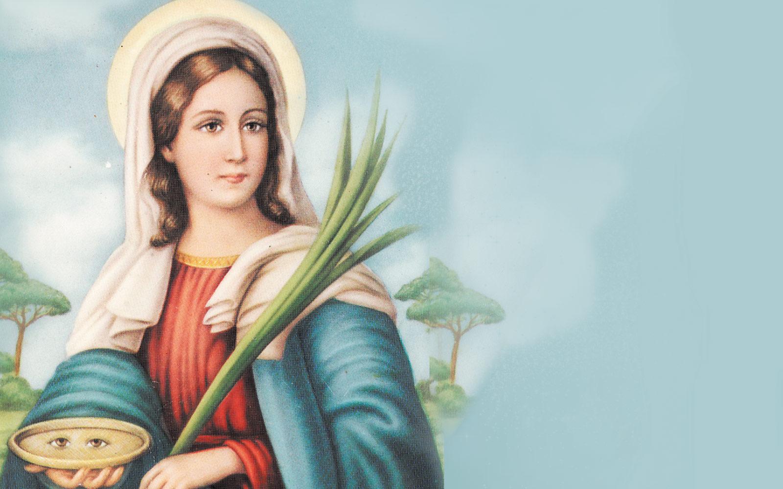 Quién fue Santa Lucía y por qué es la patrona de los ciegos