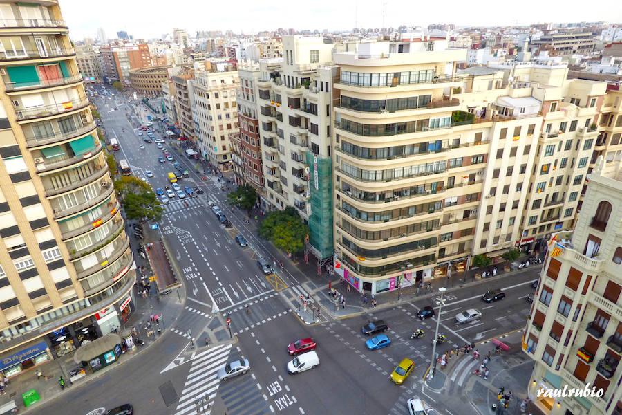 Valencia vista desde sus campanarios