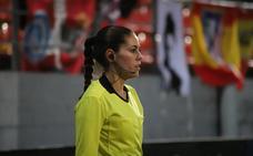 Rita Cabañero traspasa la línea
