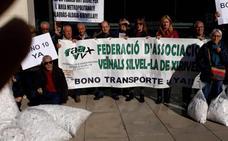 La Plataforma por el Transporte exige acabar con la «discriminación» en l'Horta Sud
