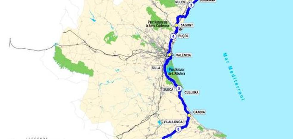 Eurovelo o el corredor mediterráneo de la bicicleta en la Comunitat