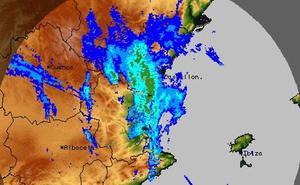 La borrasca Flora entra en Valencia y traerá tormentas por la tarde