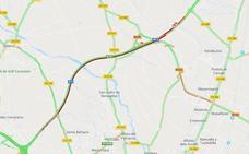 Un accidente colapsa el by-pass y provoca más de 10 kilómetros de atasco