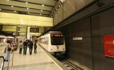 Horarios del metro y tranvía por la noche del viernes 14 de diciembre de 2018 en Valencia