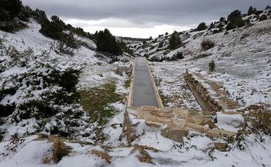Nieva en la Comunitat Valenciana por segundo día consecutivo