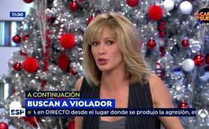 Susanna Griso confiesa que cayó en el 'timo del cámara de Antena 3'