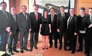 César Sánchez apoya a l'Associació de Juristes