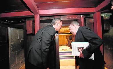 Compromiso firme para restaurar el órgano renacentista de San Nicolás