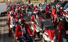 Valencia se llena de 'Papá Noeles' moteros