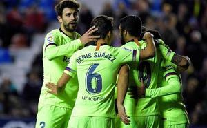 VÍDEO | Los goles del Levante 0-5 Barça