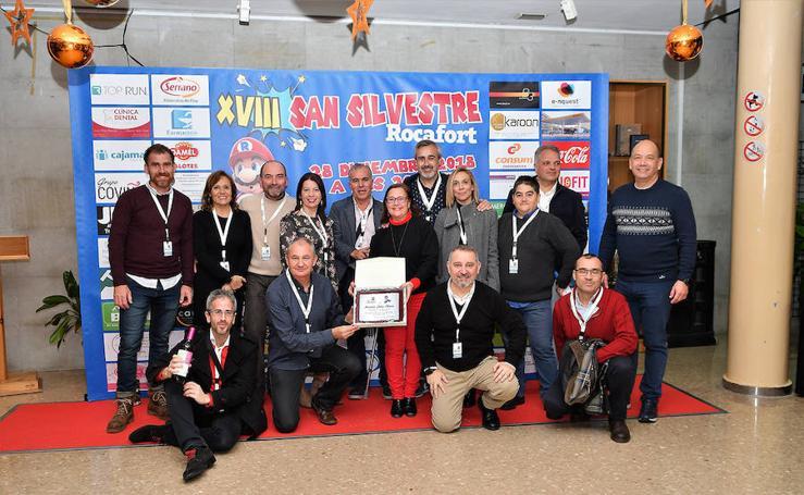 Presentación de la XVIII San Silvestre de Rocafort
