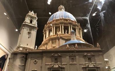 Así iba a ser la gran Basílica de la Virgen de los Desamparados sobre la Almoina