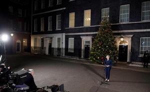 May aplaza el voto del 'brexit' a la tercera semana de enero