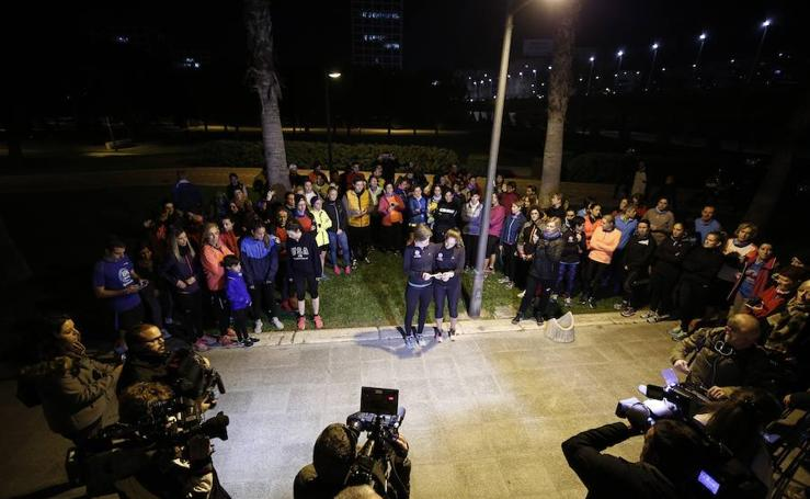 Fotos de la carrera solidaria en Valencia por Laura Luelmo
