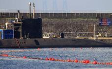 España niega que un barco español persiguiese a un submarino nuclear británico