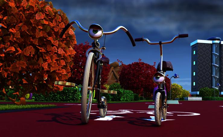 Fotos de 'Bikes', con dirección y producción de la Comunitat y nominada al Goya a mejor película de animación
