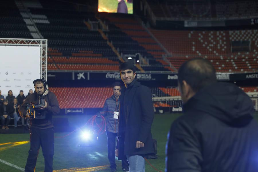 Las leyendas del Valencia CF presenta el partido del centenario