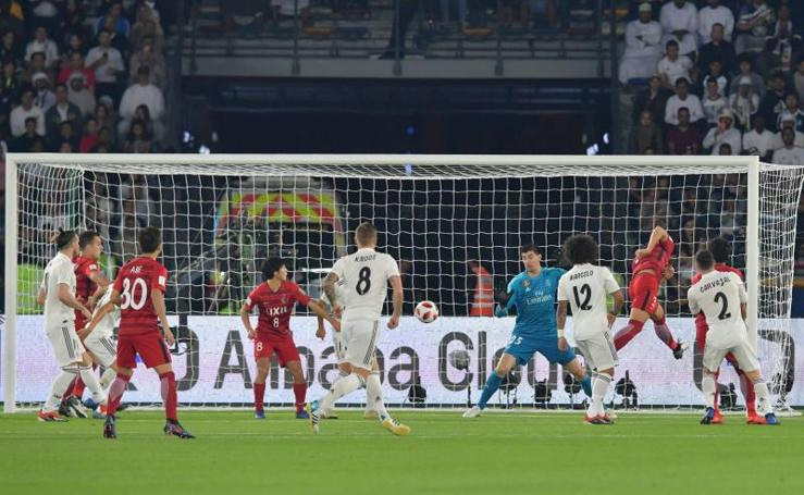 Las mejores imágenes del Kashima-Real Madrid