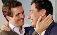 PP y Cs alcanzan un principio de acuerdo para la legislatura en Andalucía