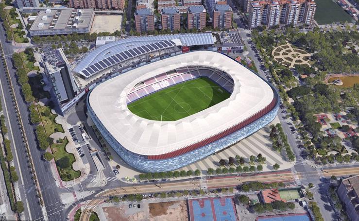 Así será el nuevo 'Ciutat de València'
