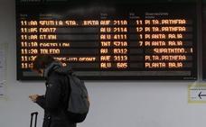 La salida de Navidad comienza con cancelación de 571 trenes por la huelga de Renfe