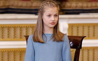 La princesa Leonor, protagonista del mensaje navideño