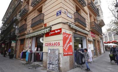 Cierra el histórico comercio Galerías Martín en Valencia