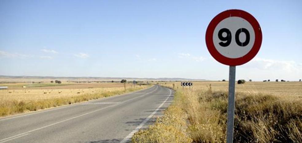 Las carreteras convencionales tendrán una velocidad máxima de 90 km/h
