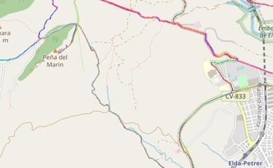 Un escalador, inconsciente tras caer desde una altura de 10 metros en la Peña del Marín de Elda