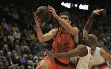 Triunfo a base de triples del Valencia Basket que acerca la Copa (89-74)