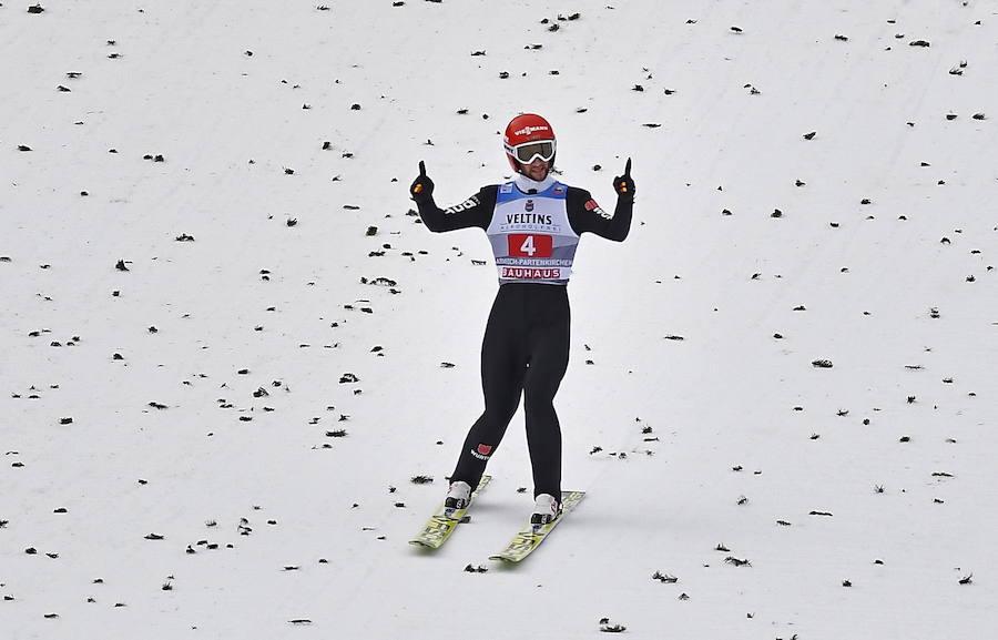 Saltos de esquí en Garmisch-Partenkirchen el 1 de enero de 2019