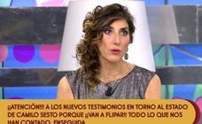Paz Padilla enfada por un comentario sobre Camilo Sesto